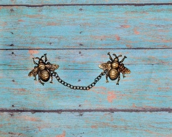 Busy Bee Sweater Guard Clips