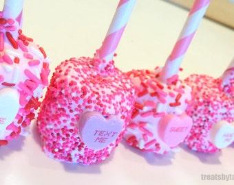 Valentine's Conversation Heart Marshmallows