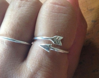 Lovely silver stacking ring