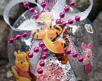 Winnie the Pooh Christmas Ornament with Eeyore & Piglet Too