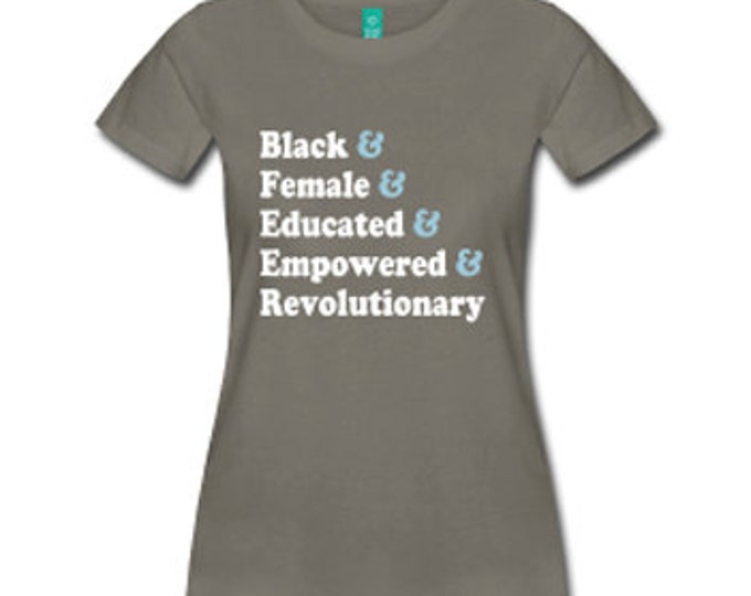 Traits of the Black Woman Fitted T-Shirt - Dark Gray