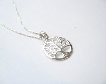 Tree of Life Necklace- Sterling Silver