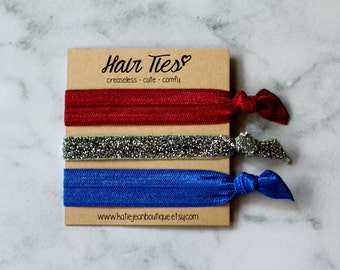 "Elastic Hair Ties - The ""Stella"" Collection"