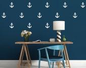Anchor Wall Decals - Anchor Decals - Nautical Wall Mural Decal - Nursery Wall Decal - Vinyl Stickers - Anchor Wall Stickers - Peel & Stick