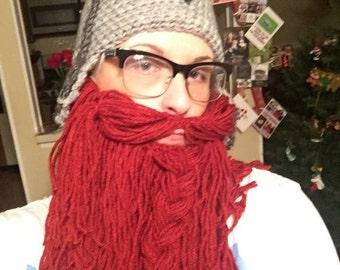Medieval Bearded Dwarf Hat