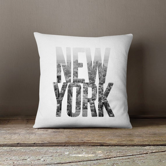 Items similar to New York pillow cover, NYC pillow, new york cushion, manhattan pillow, New York ...