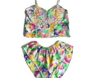 Vintage Victoria's Secret 2 pc lingerie set