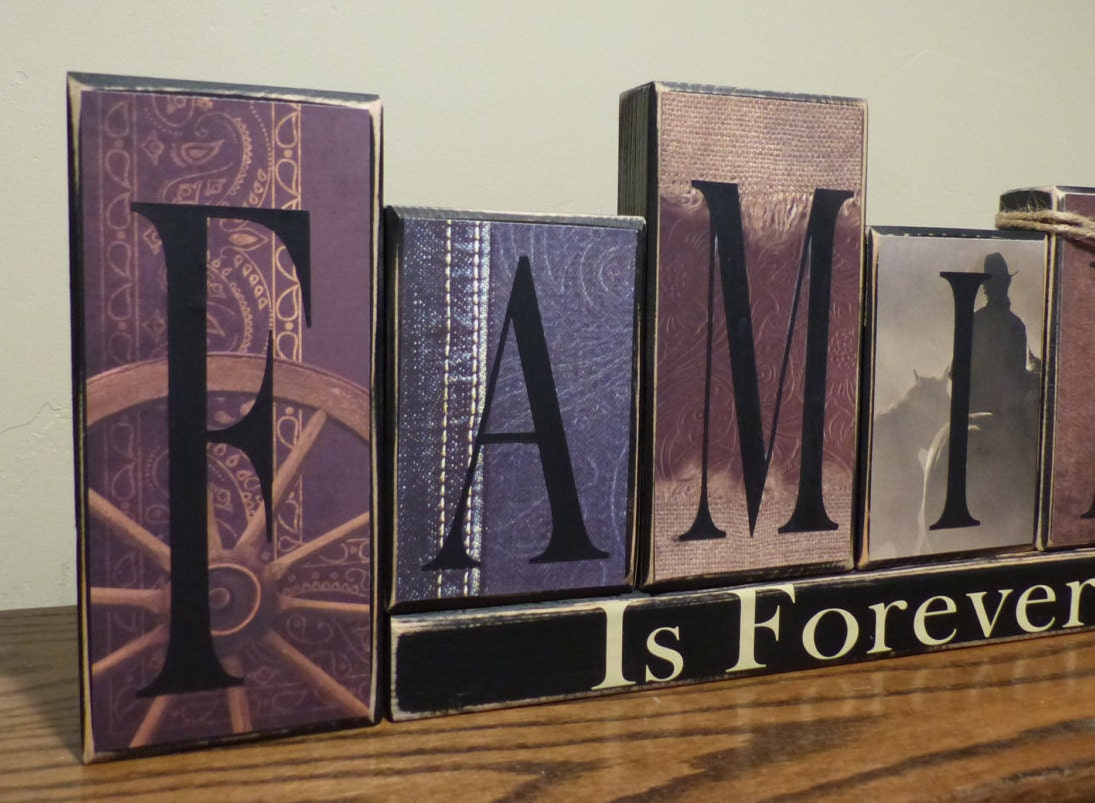 Word Blocks Home Decor 28 Images Items Similar To Rustic Word Blocks Home Decor Choose Home