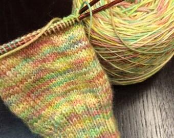 Hand dyed Sock Yarn - Superwash Merino/Nylon Blend