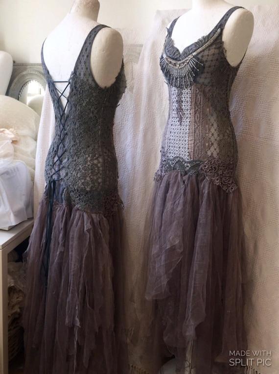 Steampunk Victorian Wedding Dress