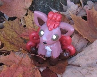 Pokemon Inspired: Vulpix Figurine/Model! - MADE TO ORDER!