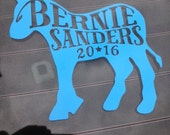 Bernie Sanders Campaign Sticker For Car Window, Bumper, Or Laptop
