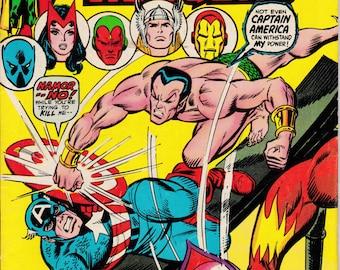 Avengers #117, November 1973 Issue - Marvel Comics - Grade VG/F