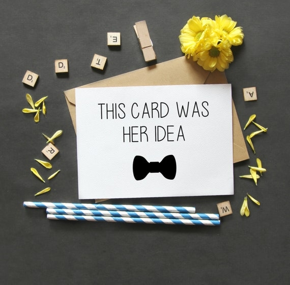 Funny Groomsman Asking Card-Bridesmaid by LailaMeDesigns ...
