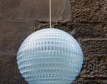 Large Vintage Space Age Ceiling Lamp, 1970s