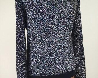 Bergdorf Goodman Handmade Vintage Opalescent Sequin Sweater Top