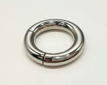4G Stainless Steel Captive Segment Ring 16mm