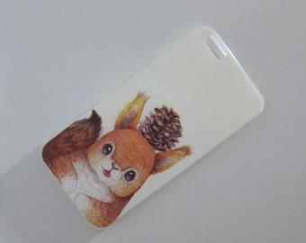 squirrel iphone case cute iphone case cutie iphone case