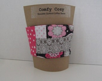 Comfy Cozy Quilted Coffee Sleeve