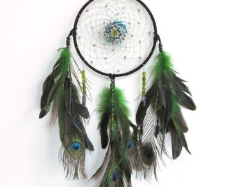 Gypsy Goddess Dream Catcher - www.hallowedearthstore.com