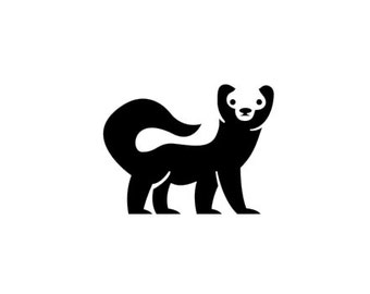Cute, Perky Honey Badger - Di Cut Decal - Car/Truck/Home/Phone/Computer/Laptop Decal