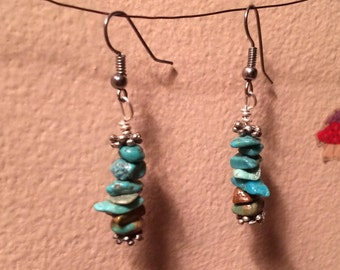 Straight Turquoise Dangles