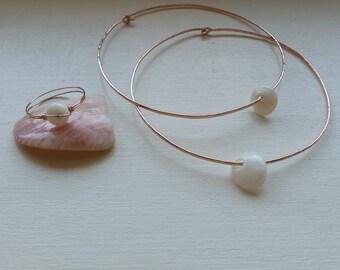 Sea Shell Jewelry, Sea Shell Bangles, Hawaiian Shell Jewelry, Puka Shell Bangle, Puka Shell Bracelet, Hawaiian Jewelry, Natural Sea Shell