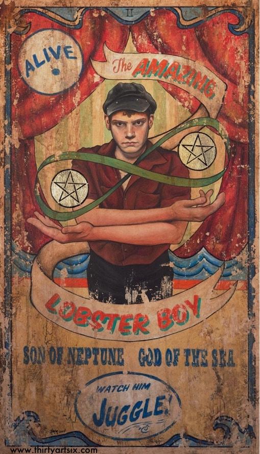 American Horror Story: Freakshow Lobster Boy Tarot
