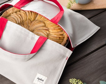 Foodie Tote Bag by Aplat // Culinary Totes // picnic and potluck // back-to-school // perfect gift for foodies // gift for chefs
