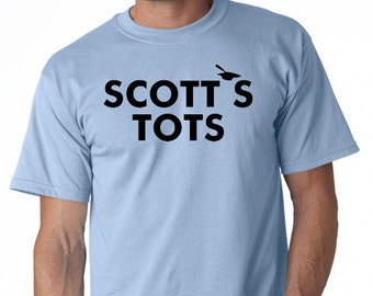 "Scott's Tots  t-shirt - the TV Show ""The Office"""