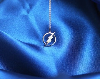 THE FLASH necklace, sterling silver