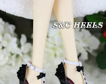 1/3 girl bjd doll shoes,sd13/sd16 shoes ,Bunny, High heeled sandals ,continental heel high heels shoes,volks DD Leeke