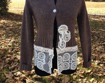 Romantic Altered Sweater