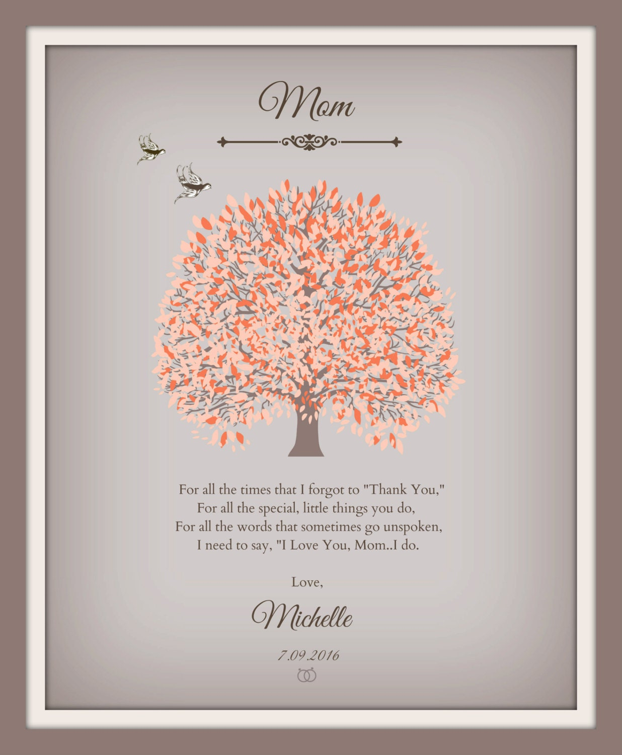 Mother Daughter Wedding Gifts: Mother Of The Bride Gift Mother Daughter Wedding Gift Poem
