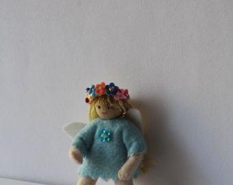 light blue fairy doll