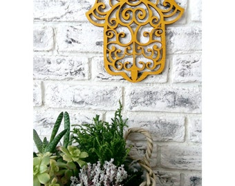 Hamsa Wall Hanging hamsa wall decor hamsa art hamsa wall hanging home decor