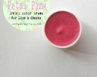 Petal Pink Cheek & Lip Silky Creme Pot Rouge
