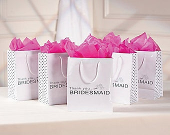1/ Bridesmaid Gift Bags