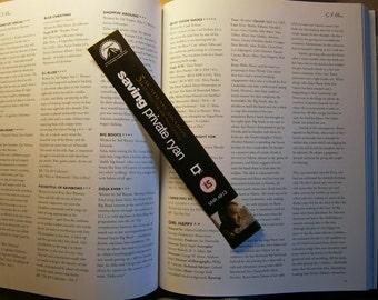Tom Hanks - Saving Private Ryan - Forrest Gump - Recycled VHS bookmark spine Magnet Drinks Coaster