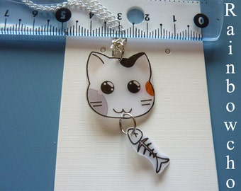 Pendant little cat kawaii resin