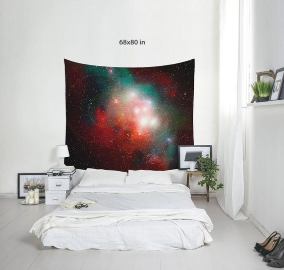 Nebula Tapestry, Space Wall Decor, Space Decoration, Dorm Tapestry, Light Tapestries