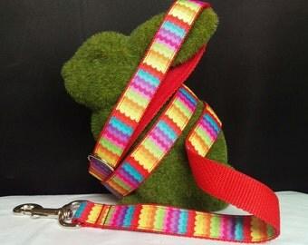 Dog Leash - Rainbow Waves