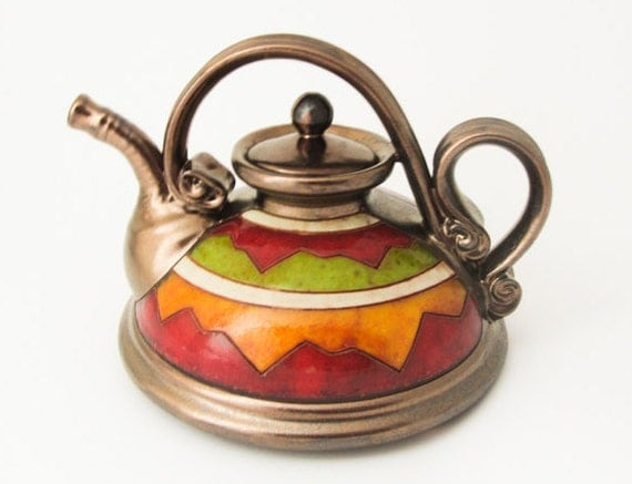 Ceramic Teapot Pottery Tea Pots Teapot Ceramic Art By