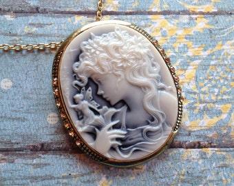 Metal Fairy Pendant, Fairy Pendant, Pendant, For Her, Gift Ideas, Womens Jewelry
