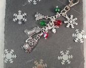 Christmas Gift Bag Charm  advent calendar gift  santa sack  christmas shopping   secret santa  stocking filler  christmas decoration