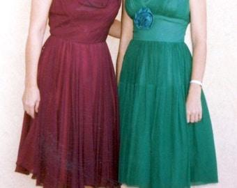1950's Vintage Dress Costume, Size Sm - Md