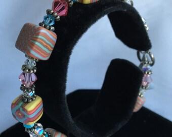 Romantic Floral Bracelet B167-810