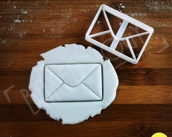 Origami Envelope cookie cutter   biscuit cutter   paper envelopes    折り紙 letter   letters   one of a kind ooak
