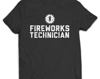 Fireworks Technician T-shirt