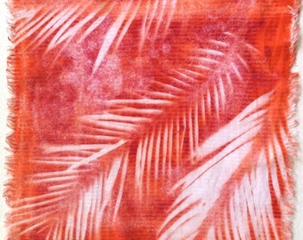Palmist Hand-dyed Handkerchief, sku H1989